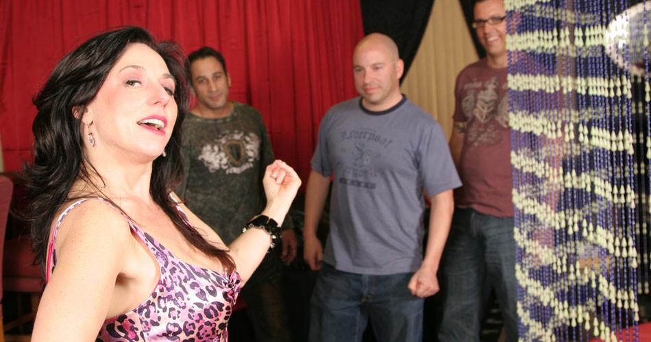 Karen Kougar milf gangbang on CumThirstyCougars.com
